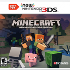 Minecraft New 3ds Edition ( DISPONIBLE AU CINEMA LA MALBAIE )10  NOVEMBRE  2017