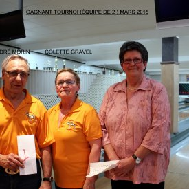 TOURNOI ÉQUIPE DE  2  MARS 2015