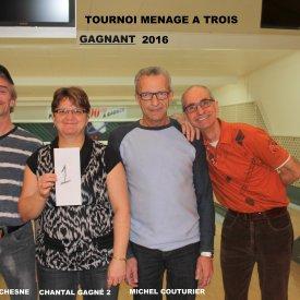 TOURNOI MENAGE A TROIS  2016