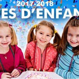 FÊTES D` ENFANTS (SAISON 2017-2018)
