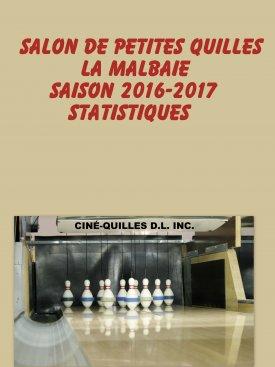 Statistiques Quilles saison 2016-2017